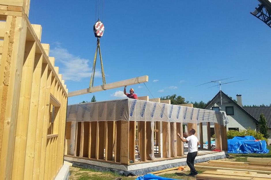 Drewniana konstrukcja krokiem do solidnego domu
