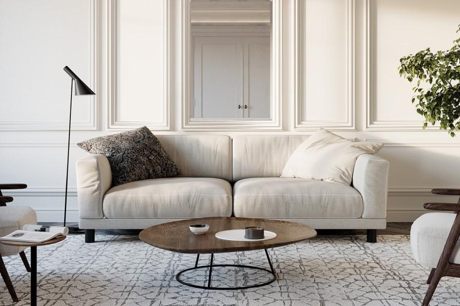 Przestronny salon - co na podłogi i ściany?