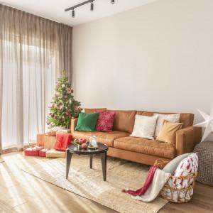 Tak przystrojono na Święta mieszkanie na warszawskim Powiślu