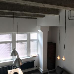 Loftowe wnętrze na krakowskiej dzielnicy Krowodrza