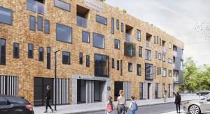 Odsłonięto elewację na inwestycji Apartamenty Sienkiewicza