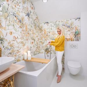 Łazienka po remoncie w Siedlisku blogerki LadyoftheHouse
