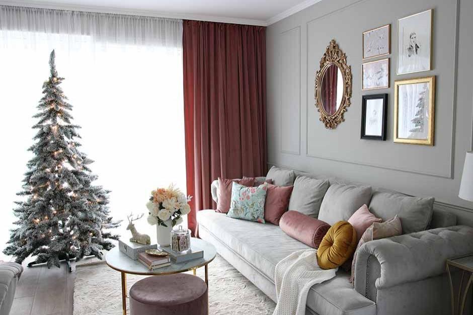 Mroźny podmuch w salonie. Jak zaaranżować wnętrze zimą?