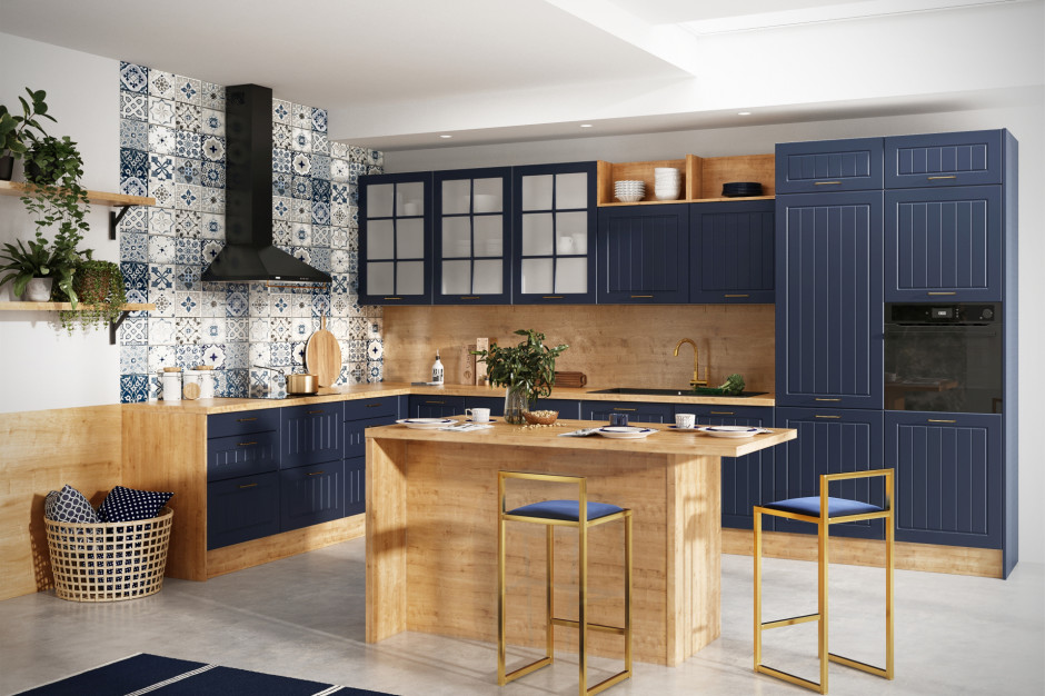 Kolory, które polubiliśmy w urządzaniu kuchni w roku 2020