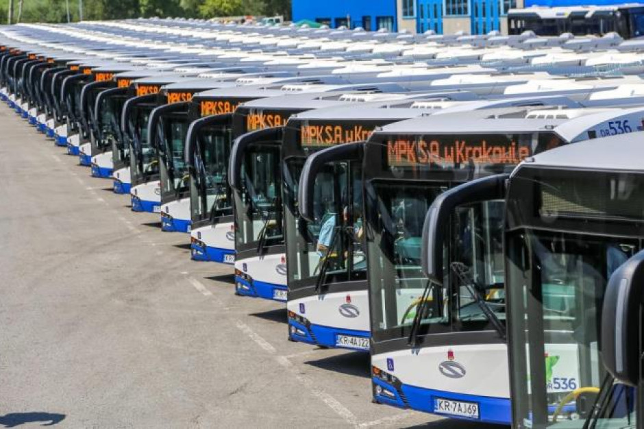 Nowe elektryczne autobusy wyjechały na ulice Krakowa