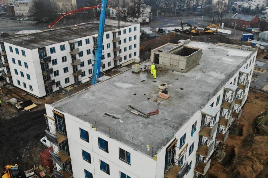 Prefabrykowane budynki Mieszkania Plus w Toruniu gotowe w 40 dni