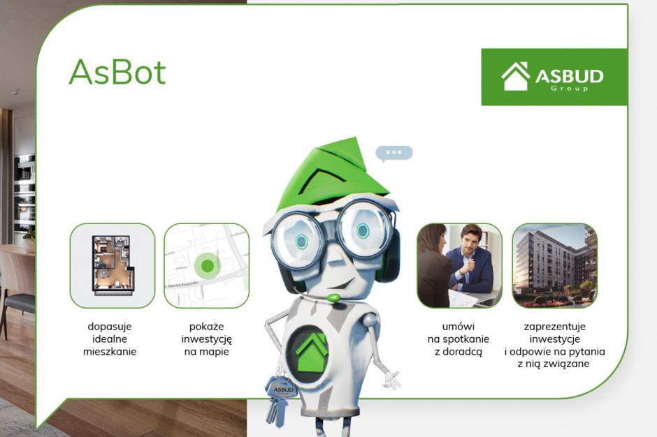 Asbud celuje w sztuczną inteligencję. Wirtualny doradca pomoże kupić mieszkanie