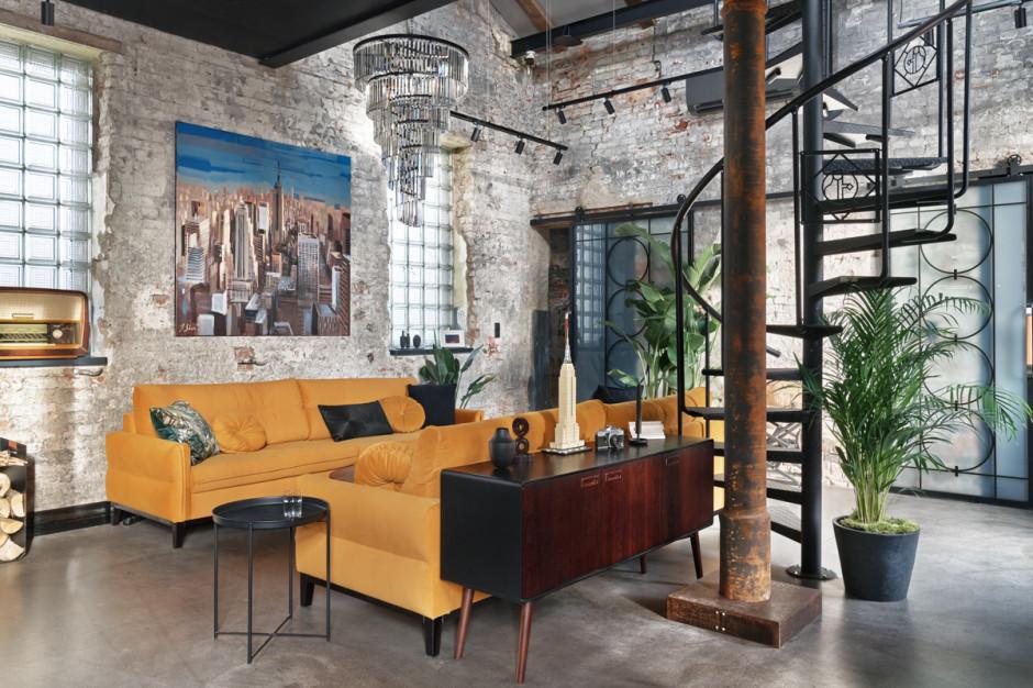 W industrialnym klimacie, czyli mieszkanie w stylu loft od pracowni Sikora Wnętrza