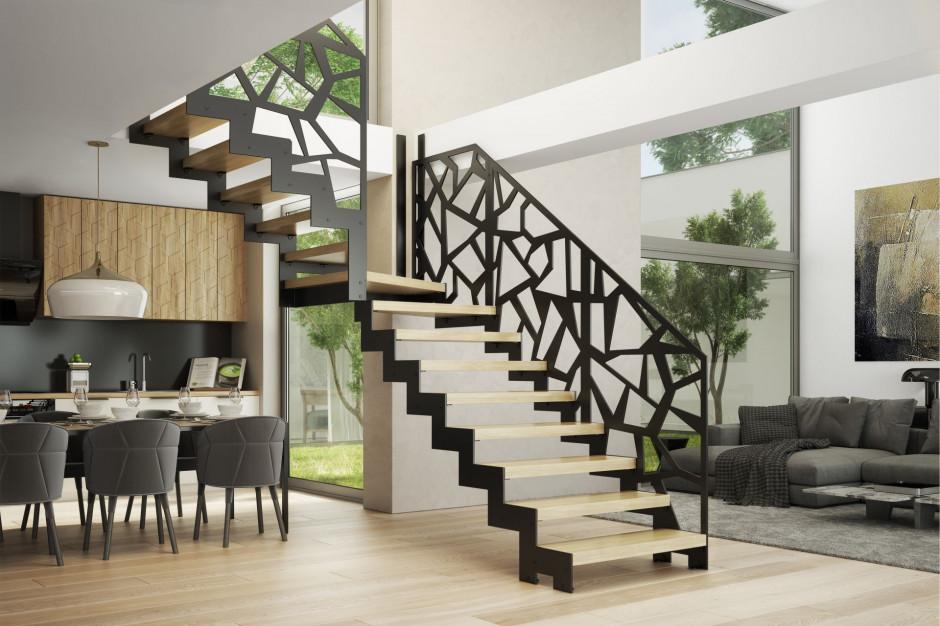 Ażurowe ściany zamiast balustrad - jak wyglądają we wnętrzu?