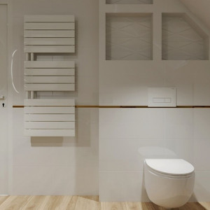 Jasne łazienki nie wychodzą z mody