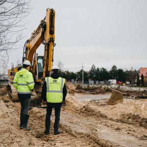 Wbicie szpadla pod inwestycję PDD w Choroszczy