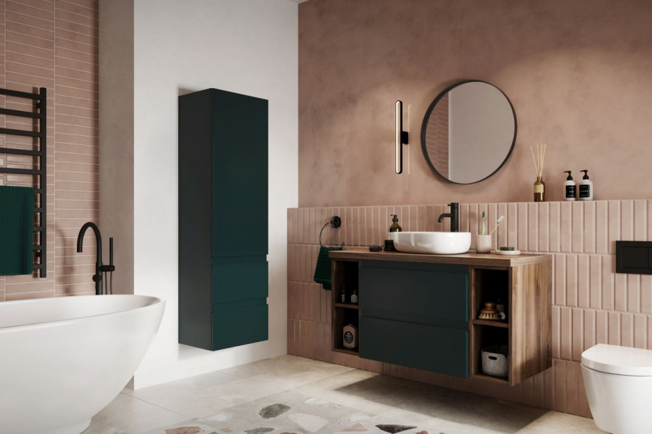 Remont łazienki w duchu less waste