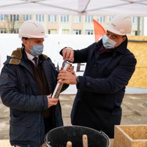 Budowa HB1820 we Wrocławiu oficjalne rozpoczęta