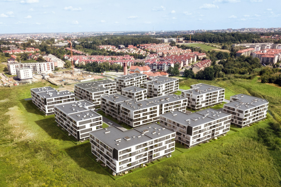 Krakowskie osiedle Atal Kliny Zacisze z pozwoleniem na użytkowanie kolejnego etapu