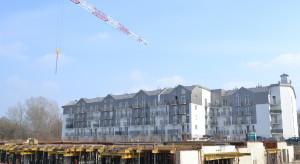 Postępy na palcu budowy osiedla Nadolnik