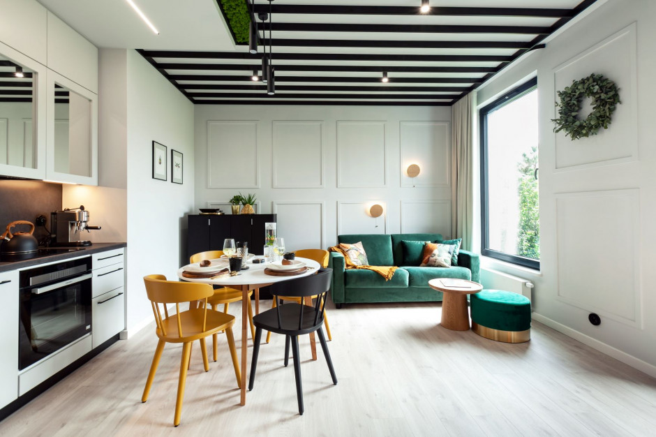 Zobacz nowoczesny Apartament Botanica na osiedlu Botanica Jelitkowo