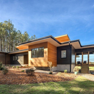 Rezydencja Baboolal: amerykański dom w Chapel Hill