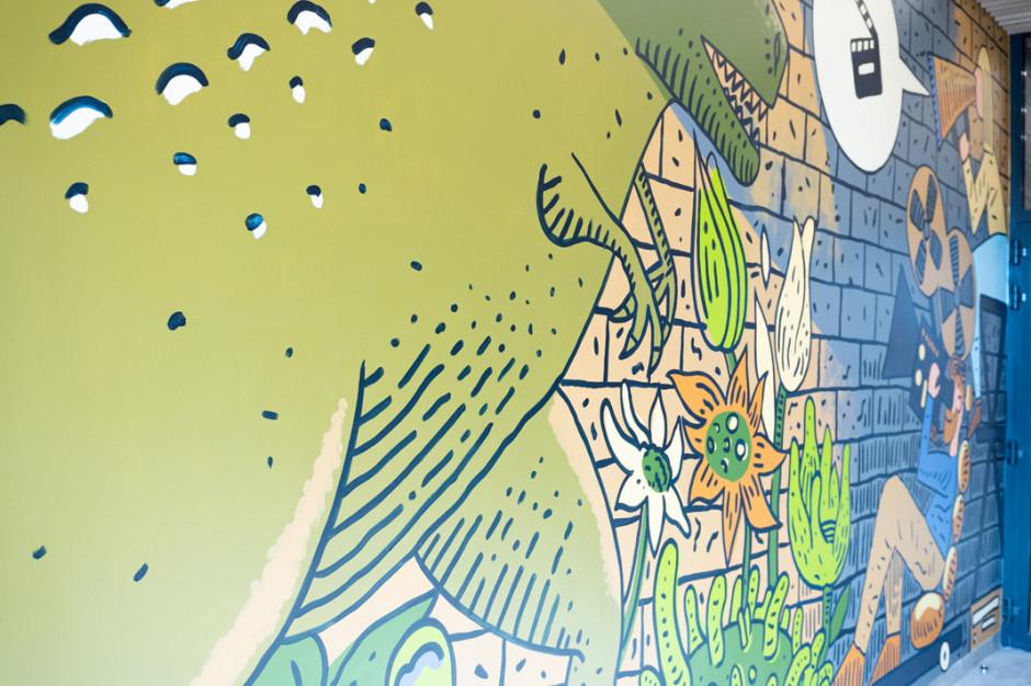 Osiedle Primo od Profbud z muralem Marcina Czai