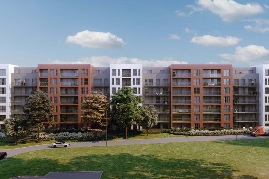 Zaawansowane prace na placu Lisia Apartamenty