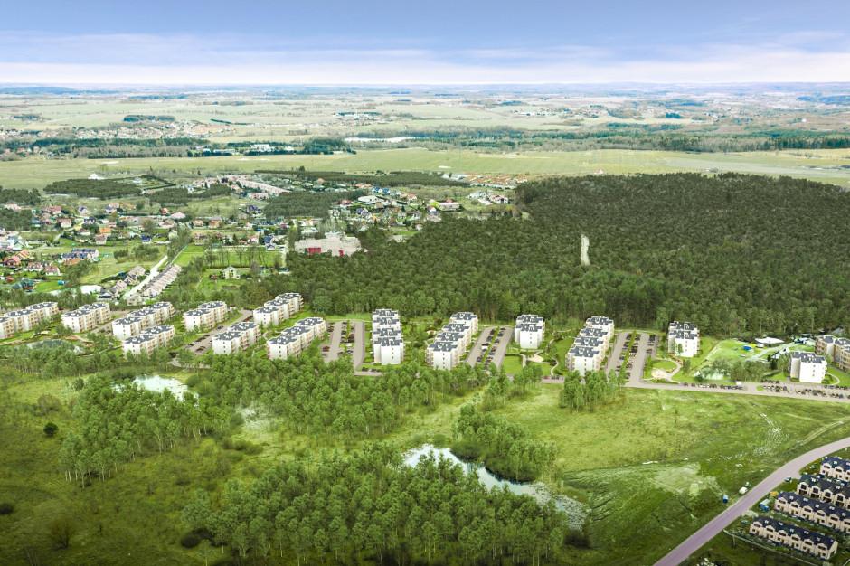 Inwestycja z prywatnym lasem od Robyg