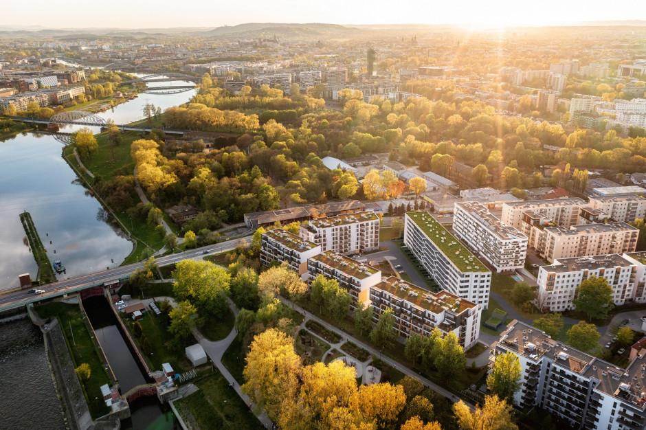 Zakątek Dąbie: nowoczesny projekt w rośnie w Krakowie