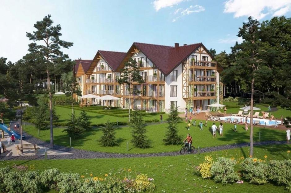 Moris Polska zbuduje Zapach Lasu - obiekt mieszkalno-pensjonatowy