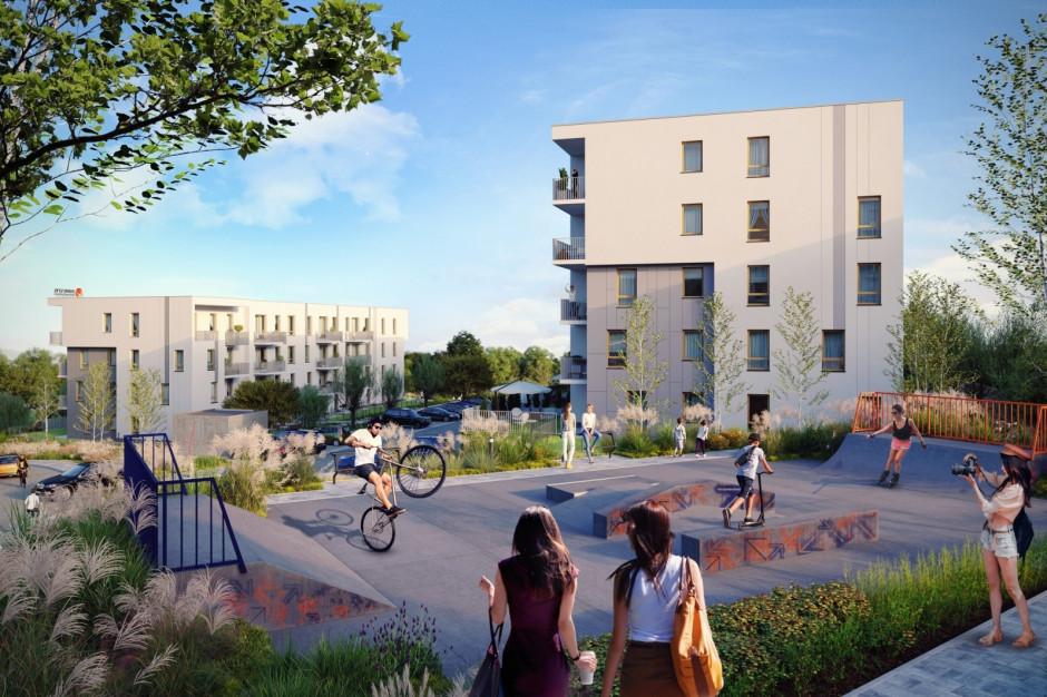 Kolejne mieszkania na osiedlu Dynamika w Gdańsku
