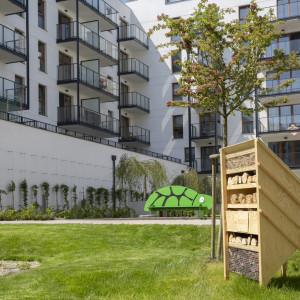 Budki dla ptaków i domki dla owadów na osiedlach mieszkaniowych Robyg