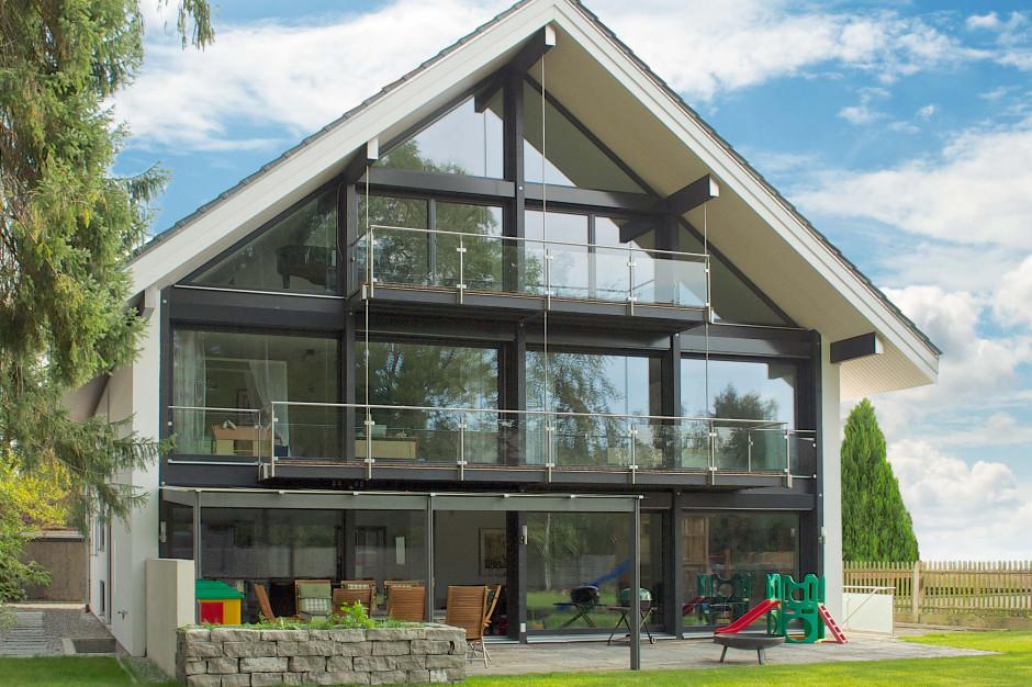 Dom z drewna nie tylko dla celebrytów