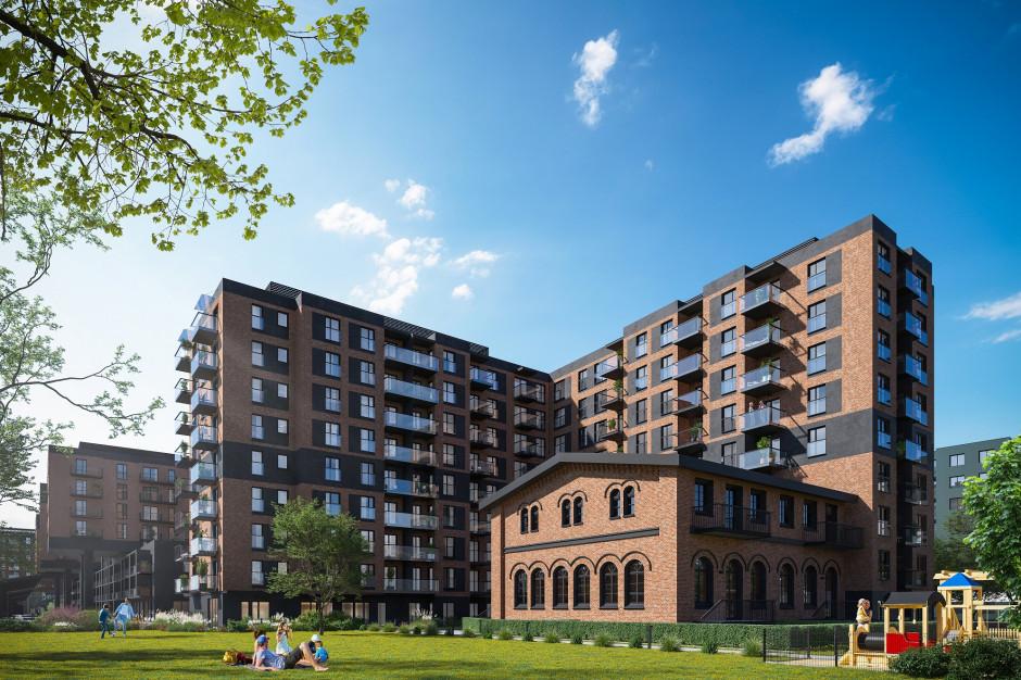 Atal City Square z mieszkaniami w starej parowozowni w II etapie wrocławskiego osiedla