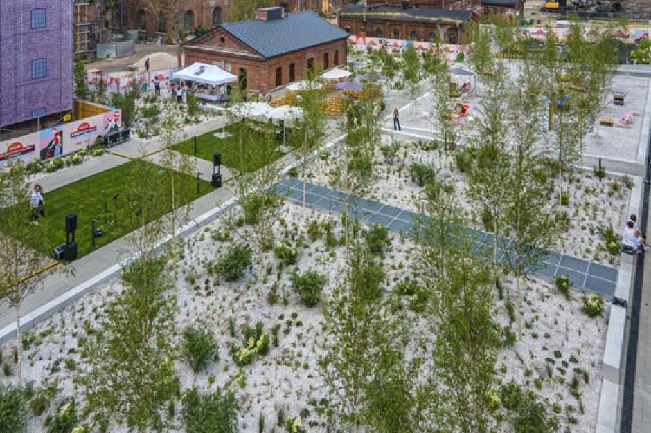 Łódzka Fuzja z nową przestrzenią publiczną Ogrody Anny