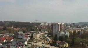 Krakowska Górka Narodowa - nowy tramwaj i postępy prac rok od rozpoczęcia budowy