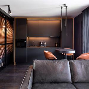 Nowoczesne małe mieszkanie projektu 2form