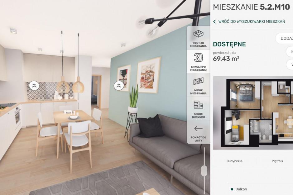 Wirtualna rzeczywistość wspiera projektowanie i sprzedaż mieszkań