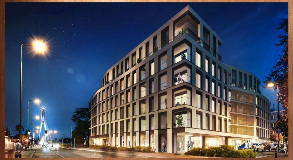 Budowa apartamentowca Flisac zakończona