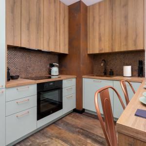 Małe mieszkanie w industrialnym stylu. Tak urządzono mieszkanie na wynajem
