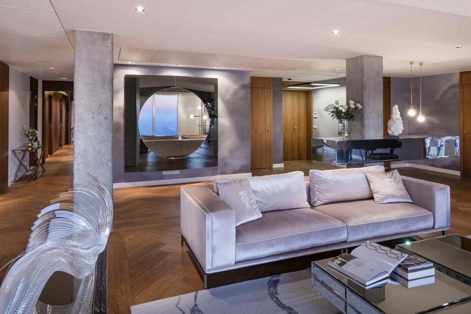 Trzy apartamenty pokazowe na 50. piętrze Złotej 44 zostały sprzedane