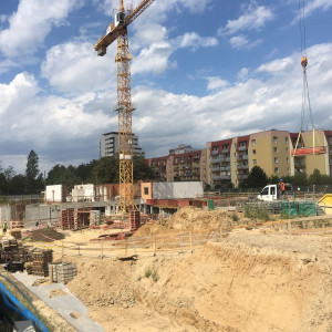 Trwa budowa 7 etapu inwestycji Nowe Ogrody