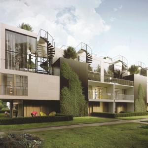 Osiedle przy Bernardyńskiej. Mieszkania, zieleń i tereny rekreacji
