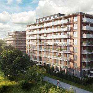 Trwa przedsprzedaż nowego budynku projektu Wyspa Solna