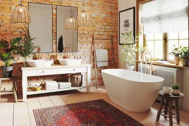 Łazienka jak z Instagrama. Modny styl boho