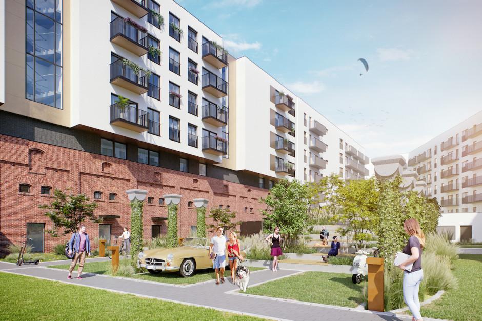 Eiffage buduje patio przy osiedlu Atmo we Wrocławiu