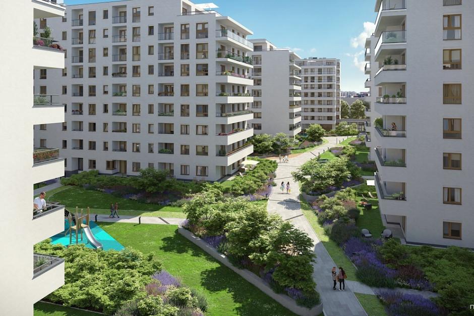 Ponad 600 mieszkań, 3 elektrownie słoneczne  i nowe rondo - Yareal buduje osiedle Pozytywny Mokotów