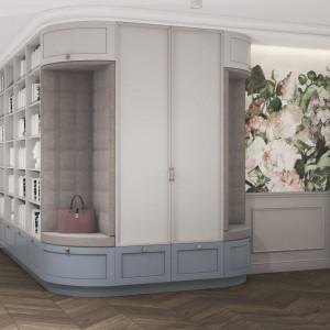 Przytulne mieszkanie z motywem kwiatów od MIKOŁAJSKAstudio