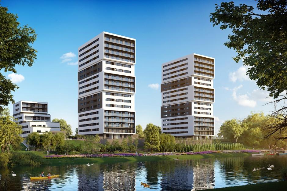 Prace wykończeniowe Aura Towers w Bydgoszczy
